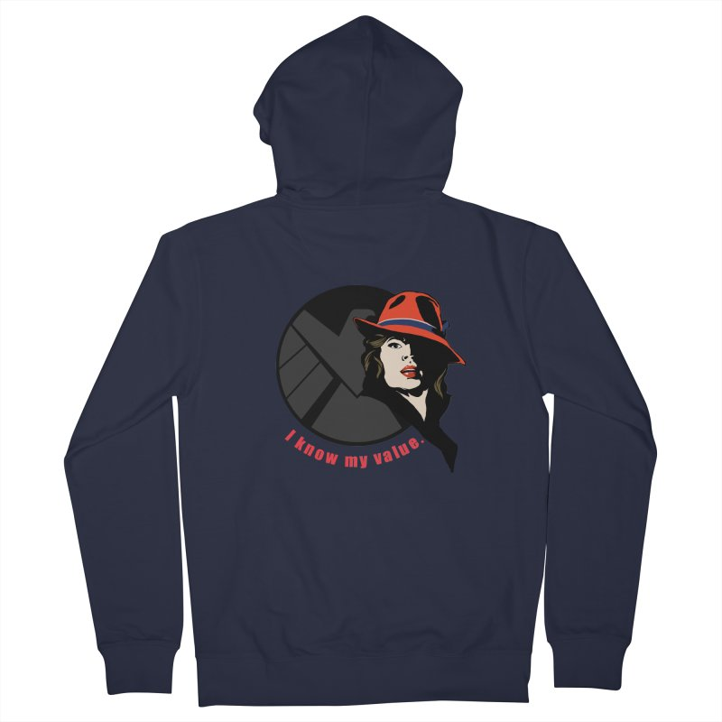 Agent of Value Women's Zip-Up Hoody by CFDunbar Designs