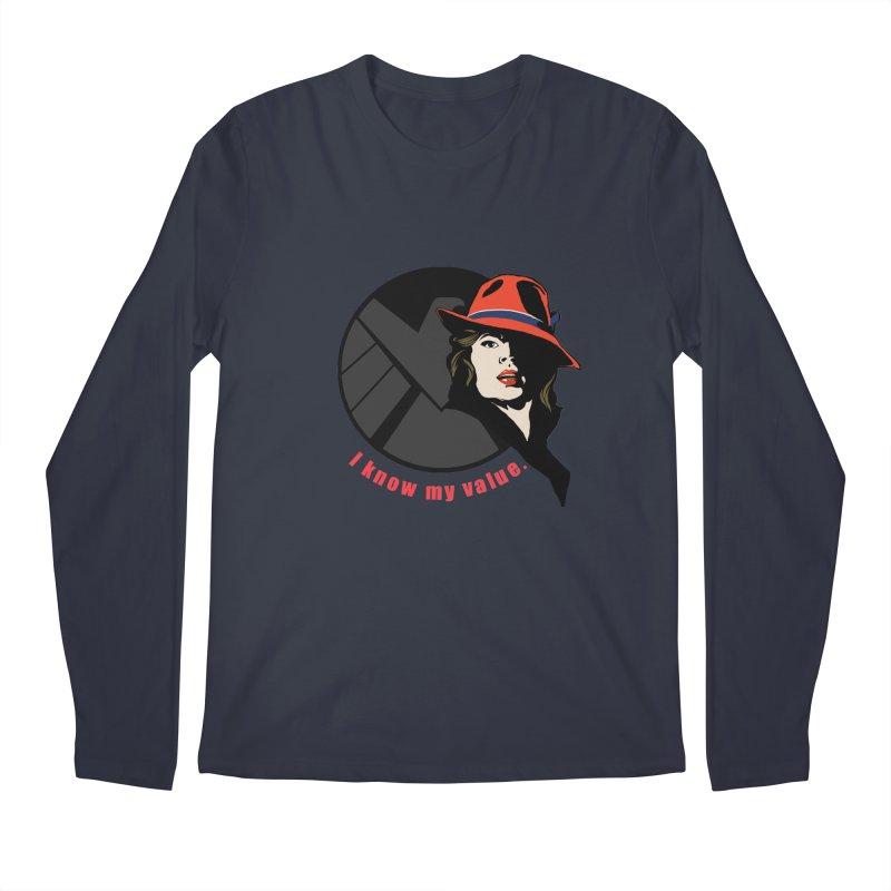 Agent of Value Men's Longsleeve T-Shirt by CFDunbar Designs