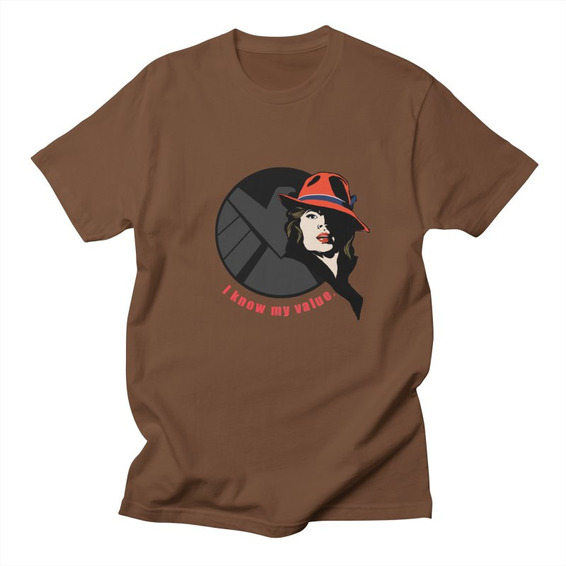 Agent of Value Men's T-Shirt by CFDunbar Designs