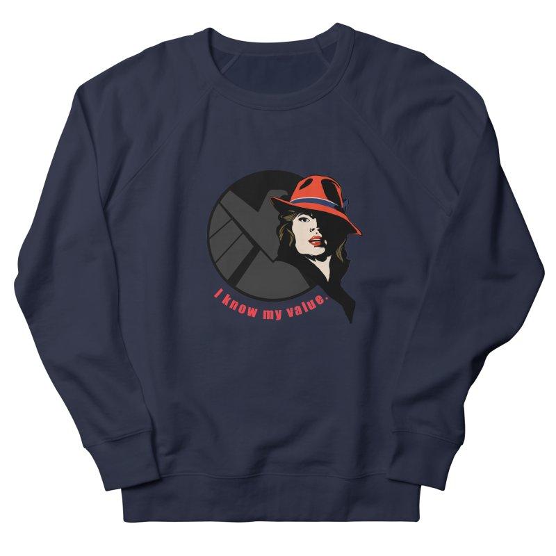 Agent of Value Men's Sweatshirt by CFDunbar Designs