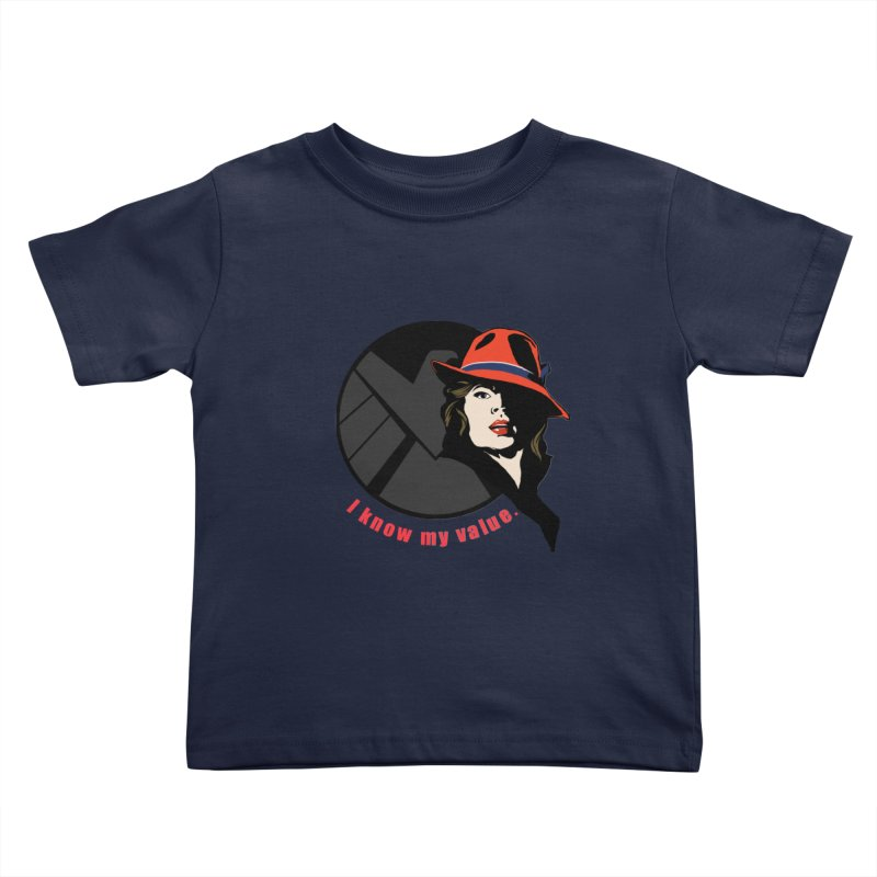 Agent of Value Kids Toddler T-Shirt by CFDunbar Designs