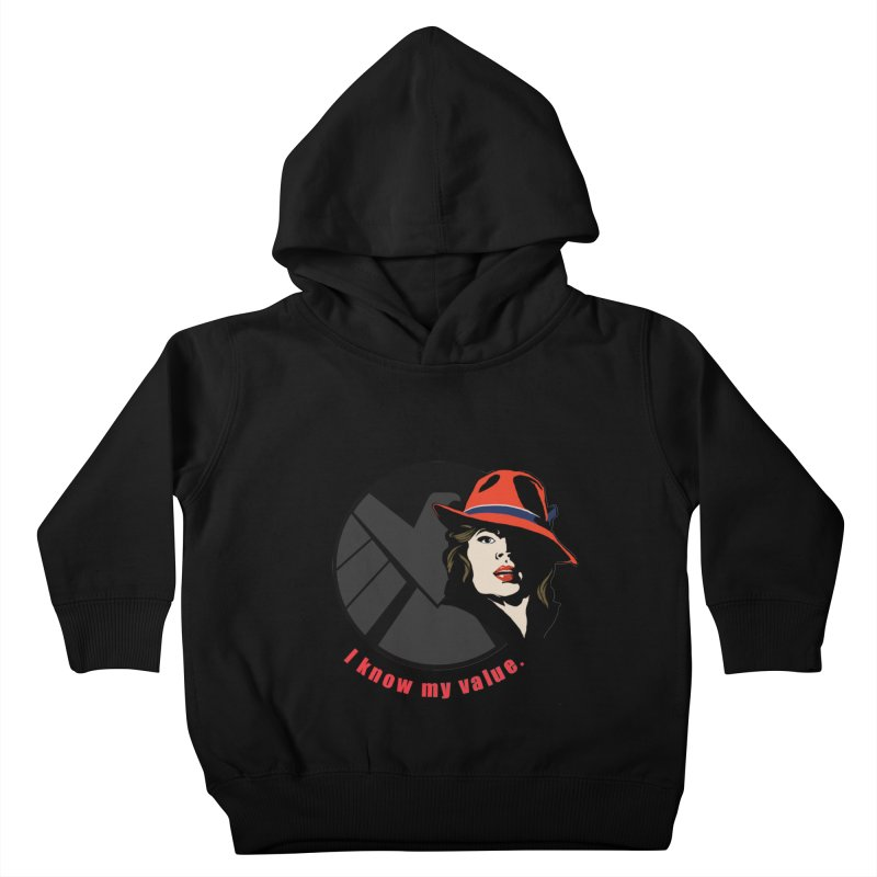 Agent of Value Kids Toddler Pullover Hoody by CFDunbar Designs