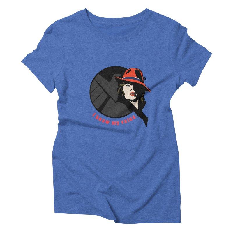 Agent of Value Women's Triblend T-shirt by CFDunbar Designs