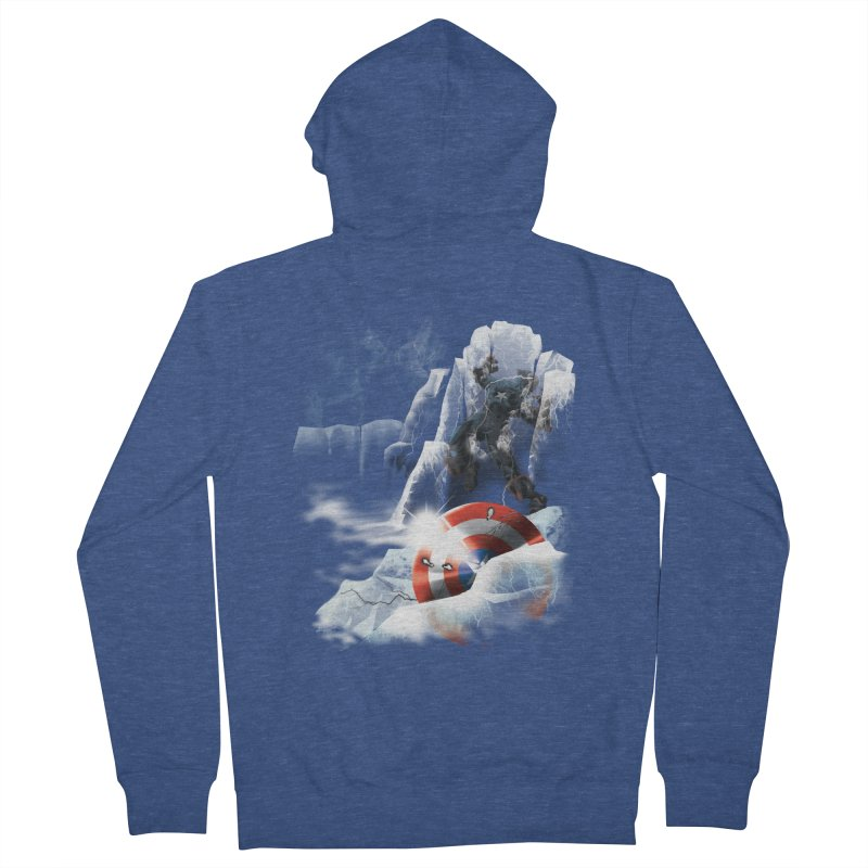 Captain: On Ice Women's Zip-Up Hoody by CFDunbar Designs