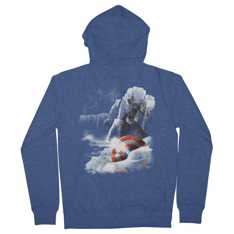 Captain: On Ice Men's Zip-Up Hoody by CFDunbar Designs
