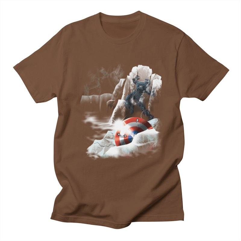 Captain: On Ice Men's T-shirt by CFDunbar Designs