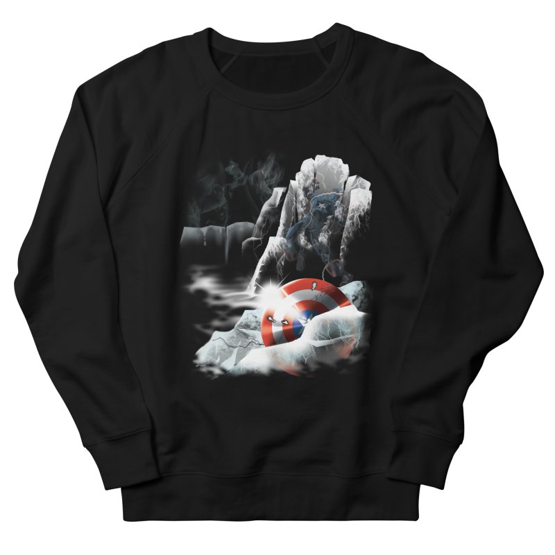 Captain: On Ice Women's Sweatshirt by CFDunbar Designs