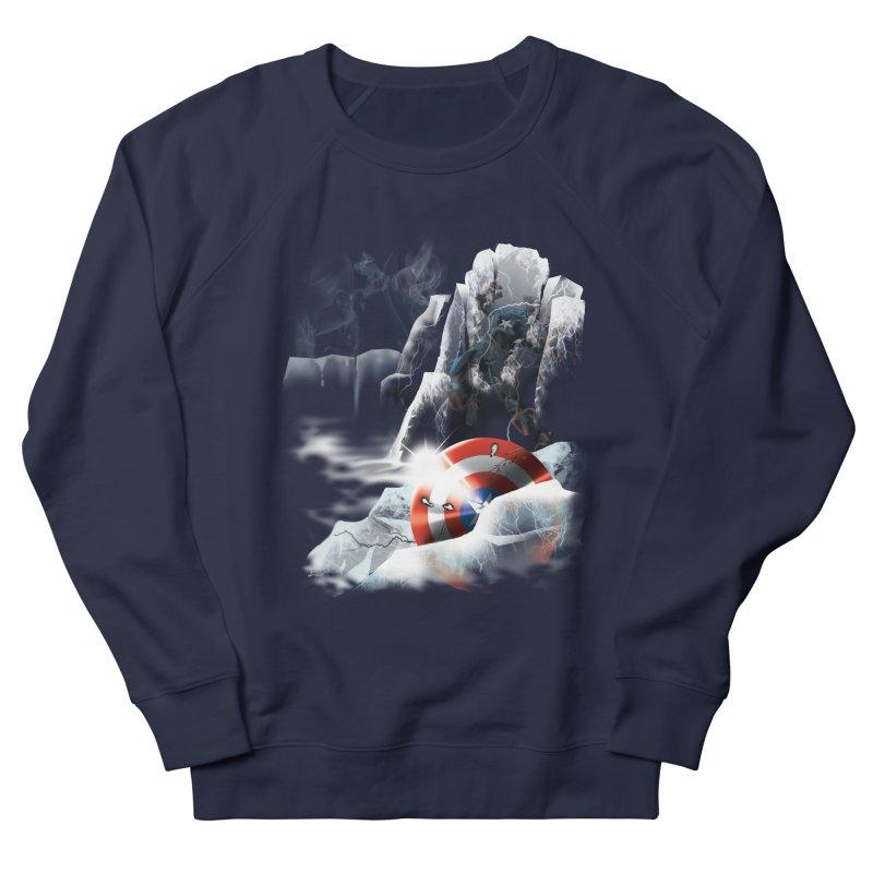 Captain: On Ice Men's Sweatshirt by CFDunbar Designs