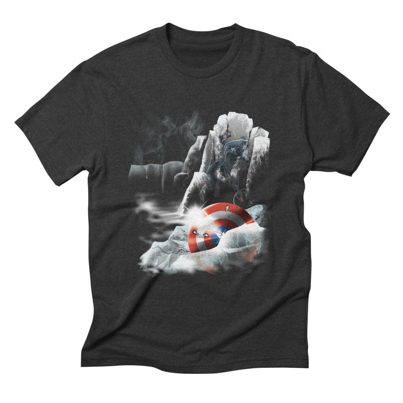 Captain: On Ice Men's Triblend T-Shirt by CFDunbar Designs