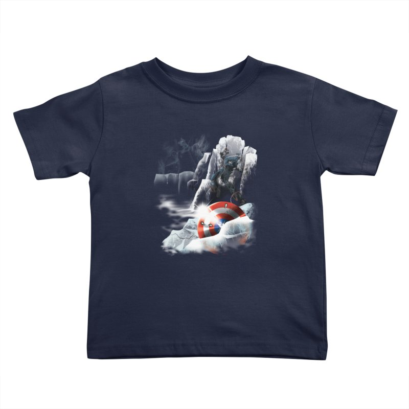 Captain: On Ice Kids Toddler T-Shirt by CFDunbar Designs