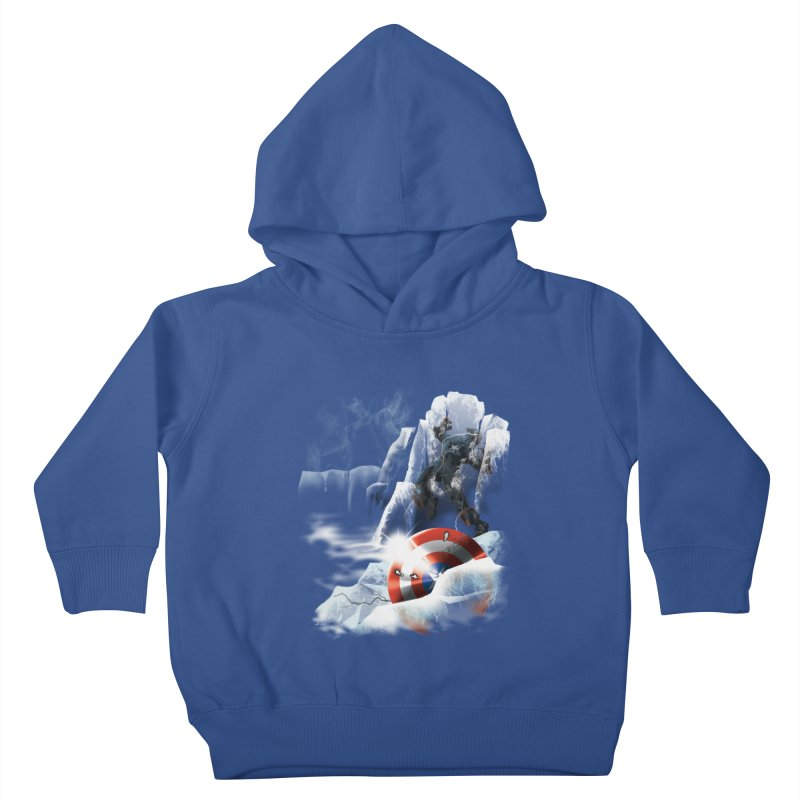 Captain: On Ice Kids Toddler Pullover Hoody by CFDunbar Designs