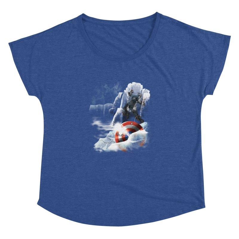 Captain: On Ice Women's Dolman by CFDunbar Designs