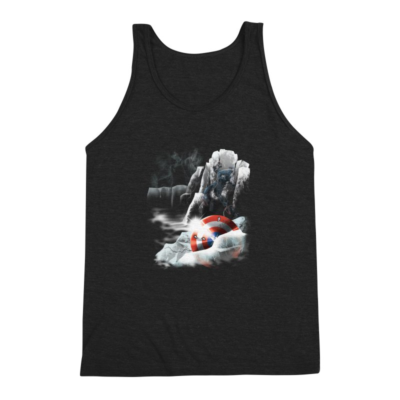 Captain: On Ice Men's Triblend Tank by CFDunbar Designs