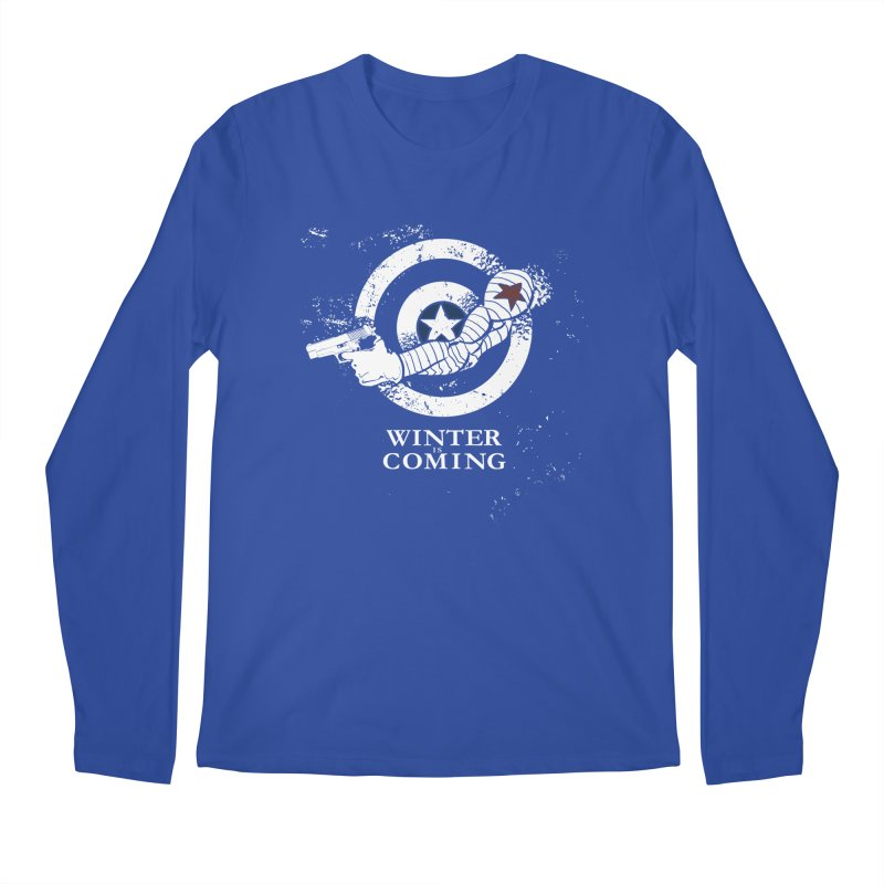 Bucky is Coming Men's Longsleeve T-Shirt by CFDunbar Designs