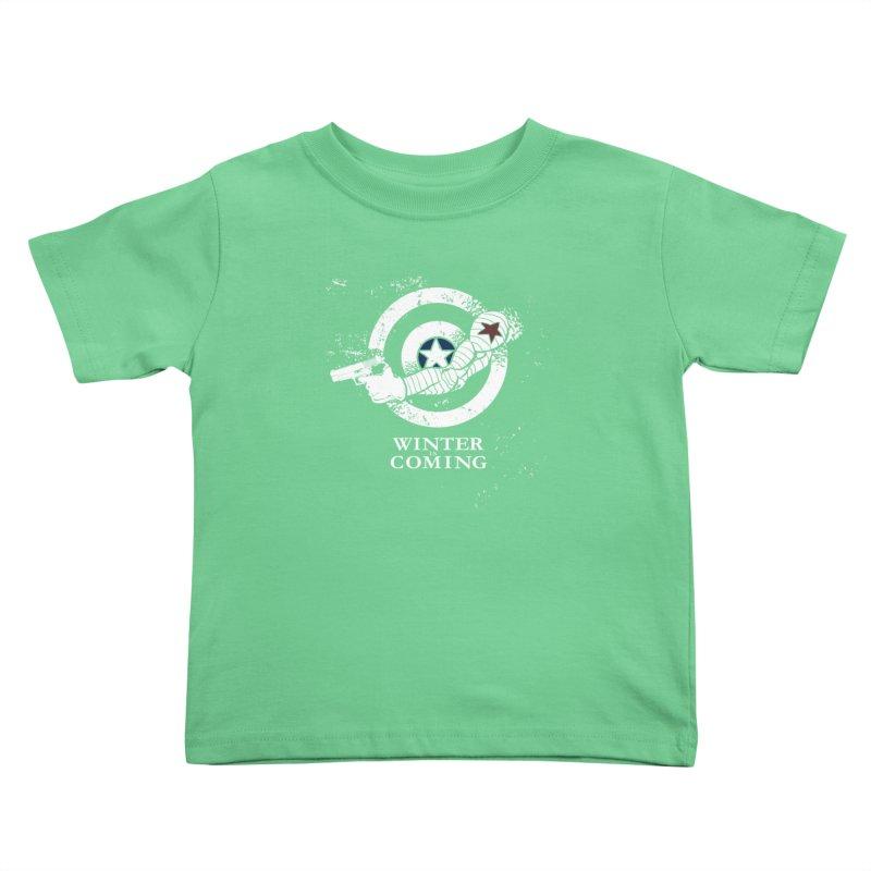 Bucky is Coming Kids Toddler T-Shirt by CFDunbar Designs