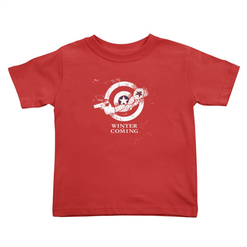 Bucky is Coming Kids Toddler T-Shirt by CFDunbar Designs