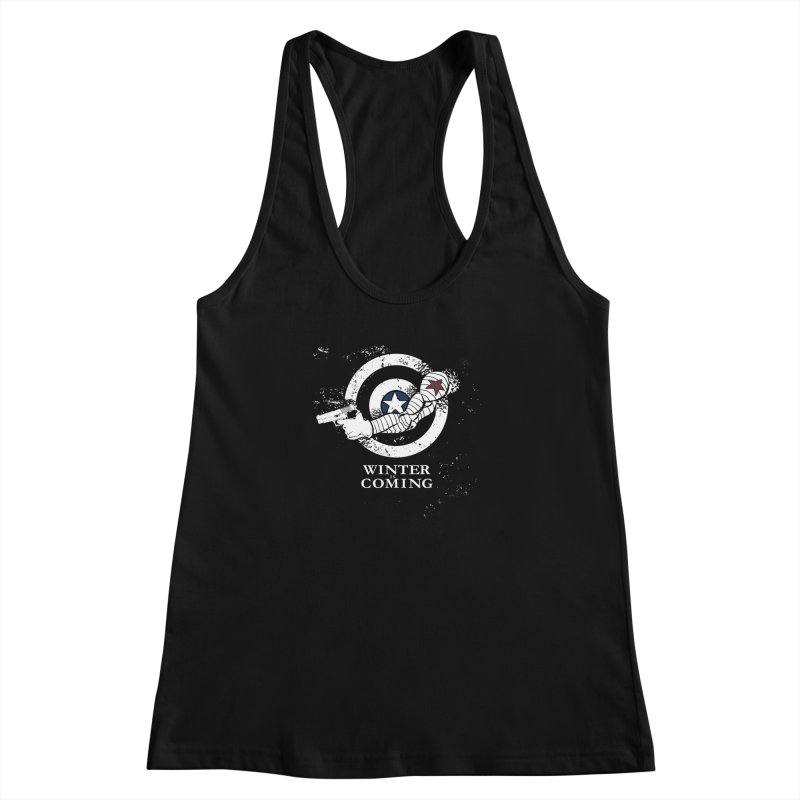 Bucky is Coming Women's Racerback Tank by CFDunbar Designs