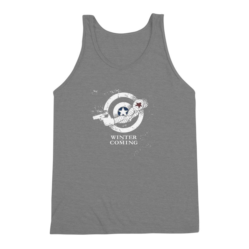 Bucky is Coming Men's Triblend Tank by CFDunbar Designs