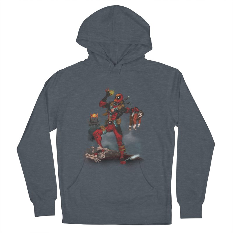 One 'Pool To Rule Them All Men's Pullover Hoody by CFDunbar Designs