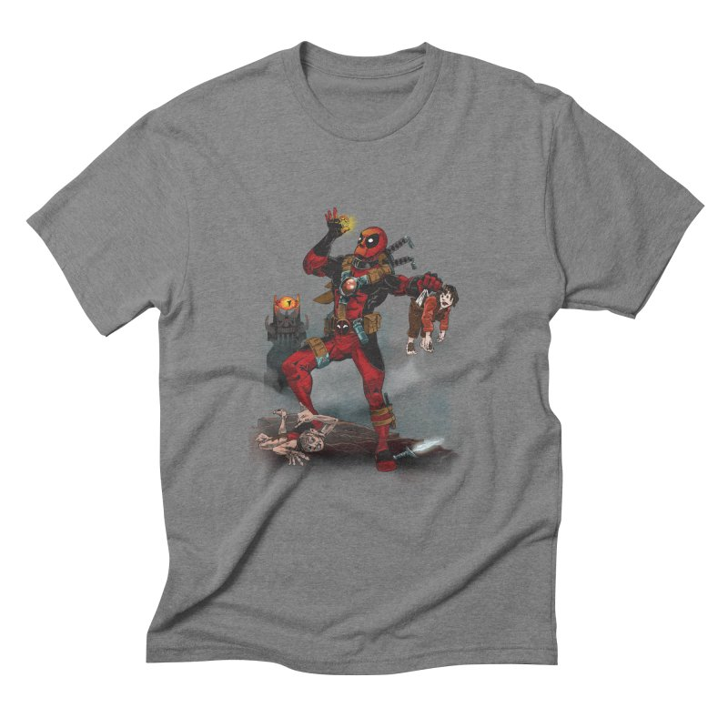 One 'Pool To Rule Them All Men's Triblend T-Shirt by CFDunbar Designs