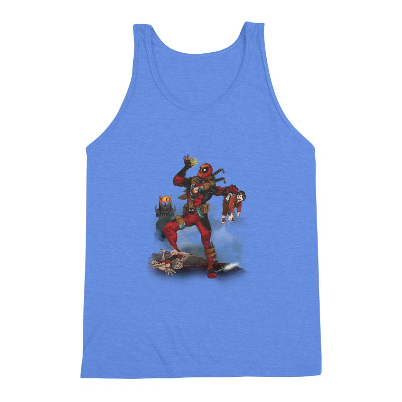 One 'Pool To Rule Them All Men's Triblend Tank by CFDunbar Designs