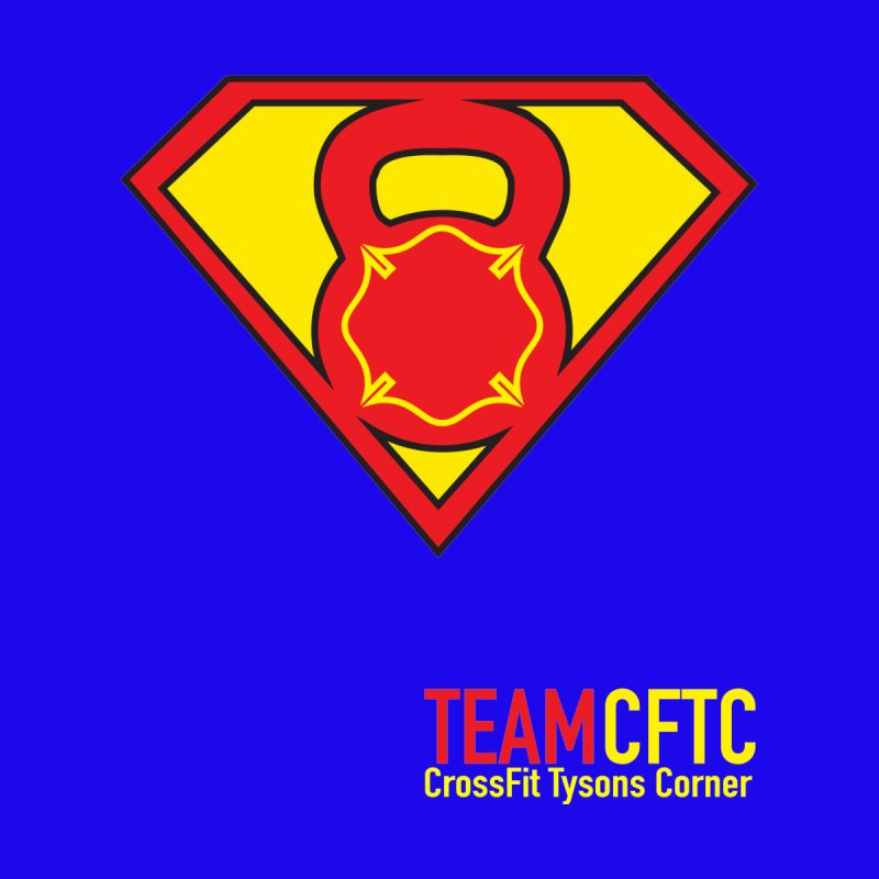 Team CFTC - Text Offset - Women Only by CrossFit Tysons Corner Apparel