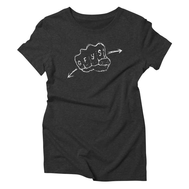 SUGGESTION 001 (GFYS) Women's Triblend T-Shirt by SOCIAL AMUSEMENT PRODUCTS. CURATED BY  CH4NNELIZER