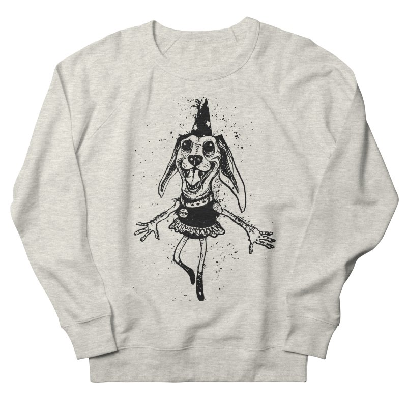 THEJOYOFDOG Men's French Terry Sweatshirt by SOCIAL AMUSEMENT PRODUCTS. CURATED BY  CH4NNELIZER