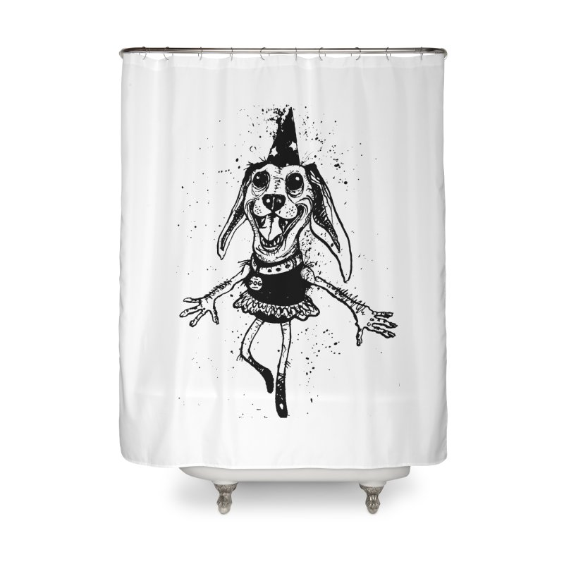 THEJOYOFDOG Home Shower Curtain by SOCIAL AMUSEMENT PRODUCTS. CURATED BY  CH4NNELIZER