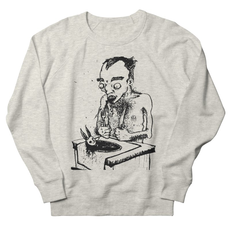NOLUCKSTILLSMILING Men's French Terry Sweatshirt by SOCIAL AMUSEMENT PRODUCTS. CURATED BY  CH4NNELIZER