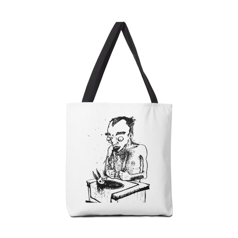 NOLUCKSTILLSMILING Accessories Tote Bag Bag by SOCIAL AMUSEMENT PRODUCTS. CURATED BY  CH4NNELIZER
