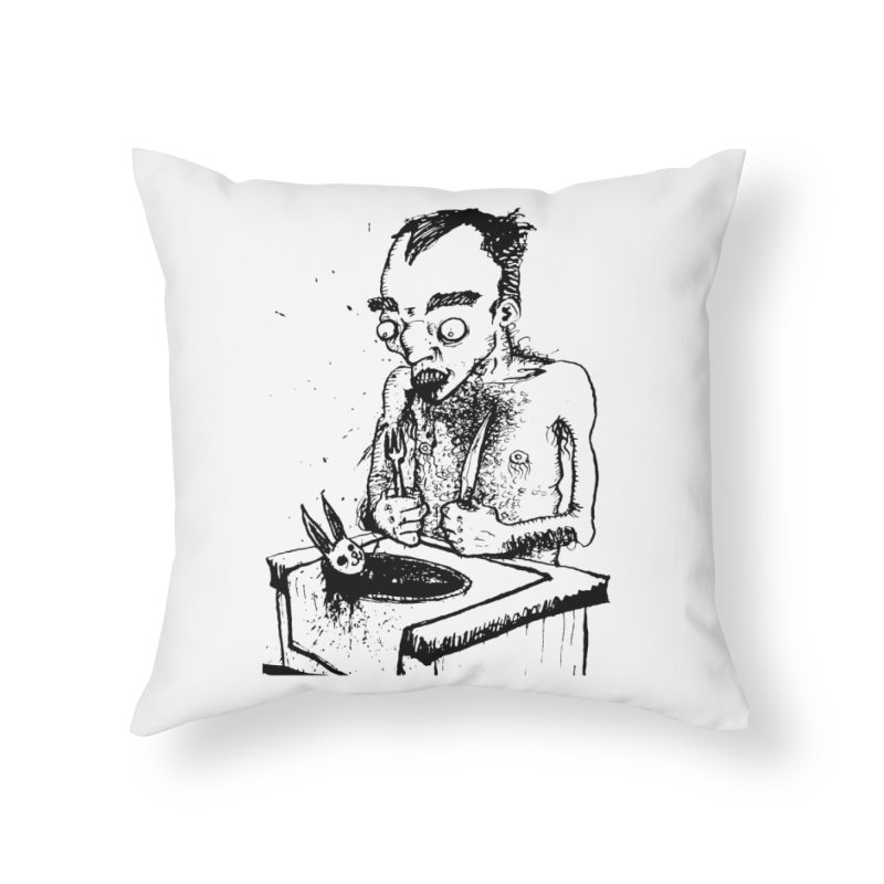 NOLUCKSTILLSMILING Home Throw Pillow by SOCIAL AMUSEMENT PRODUCTS. CURATED BY  CH4NNELIZER
