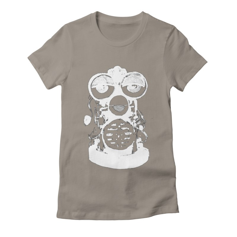 LESSTHANFURB Women's Fitted T-Shirt by SOCIAL AMUSEMENT PRODUCTS. CURATED BY  CH4NNELIZER