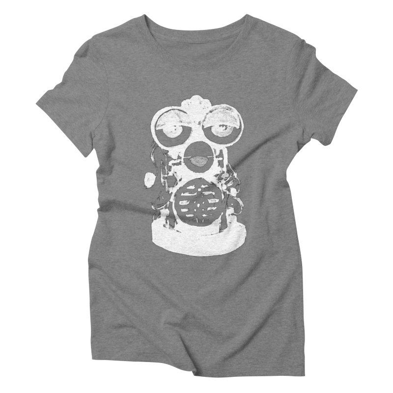 LESSTHANFURB Women's Triblend T-Shirt by SOCIAL AMUSEMENT PRODUCTS. CURATED BY  CH4NNELIZER