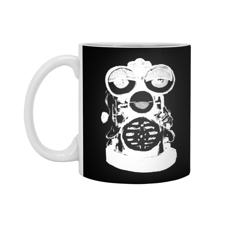 LESSTHANFURB Accessories Standard Mug by SOCIAL AMUSEMENT PRODUCTS. CURATED BY  CH4NNELIZER