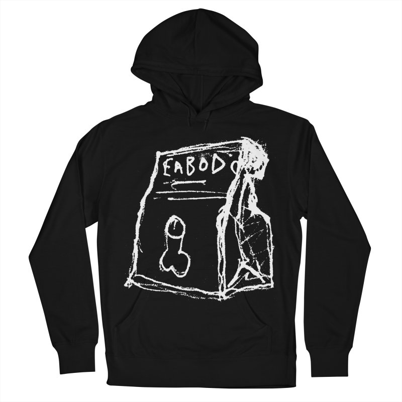 SUGGESTION 002 (EABOD) Women's French Terry Pullover Hoody by SOCIAL AMUSEMENT PRODUCTS. CURATED BY  CH4NNELIZER