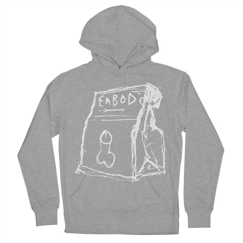 SUGGESTION 002 (EABOD) Men's French Terry Pullover Hoody by SOCIAL AMUSEMENT PRODUCTS. CURATED BY  CH4NNELIZER