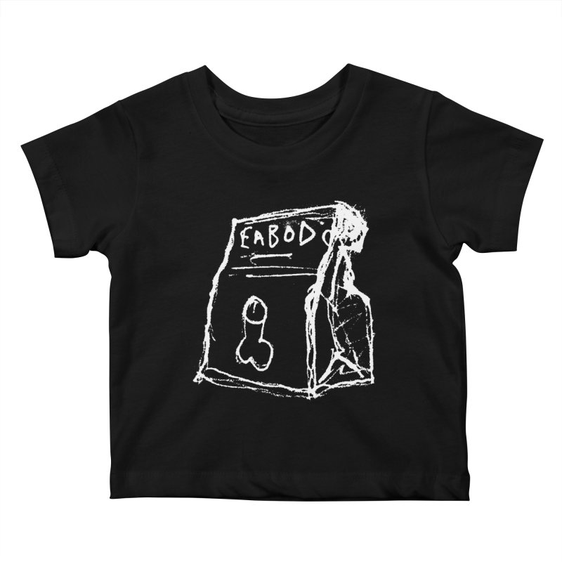 SUGGESTION 002 (EABOD) Kids Baby T-Shirt by SOCIAL AMUSEMENT PRODUCTS. CURATED BY  CH4NNELIZER