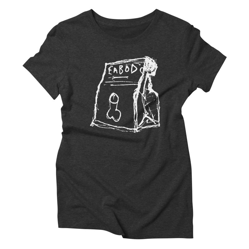 SUGGESTION 002 (EABOD) Women's Triblend T-Shirt by SOCIAL AMUSEMENT PRODUCTS. CURATED BY  CH4NNELIZER