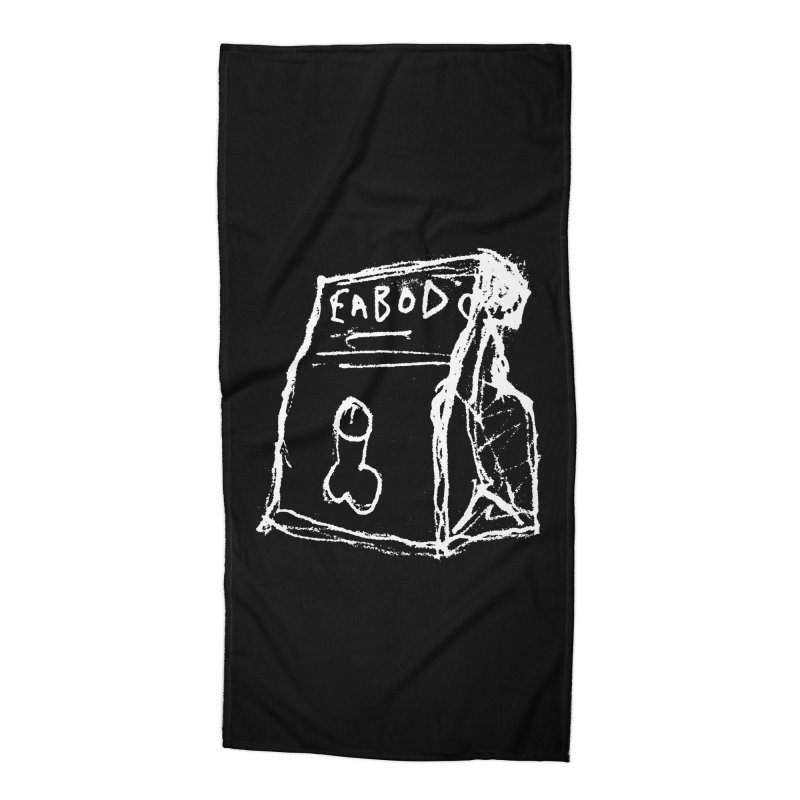SUGGESTION 002 (EABOD) Accessories Beach Towel by SOCIAL AMUSEMENT PRODUCTS. CURATED BY  CH4NNELIZER