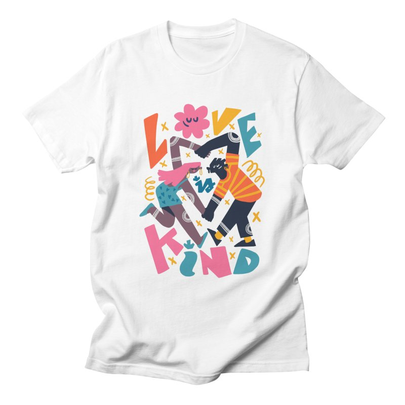 Love is Kind Men's T-Shirt by Chacko Brand
