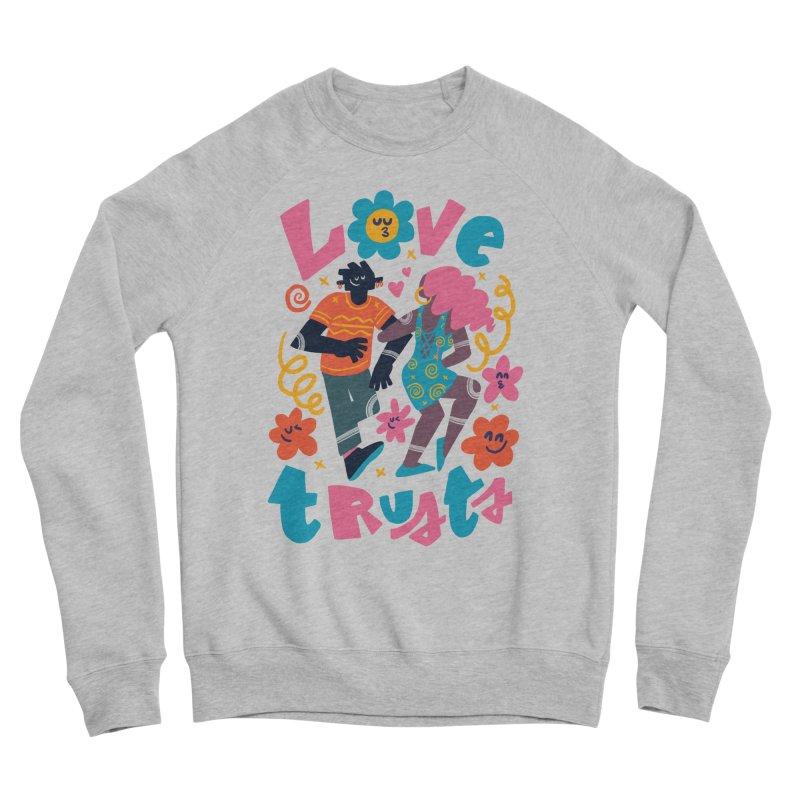 Love Trusts Men's Sweatshirt by Chacko Brand