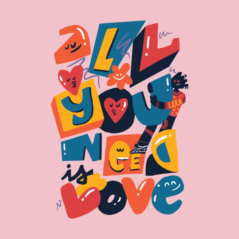 All you need is love Men's T-Shirt by Chacko Brand