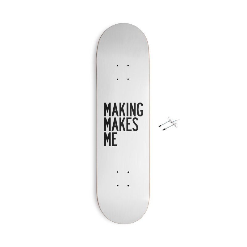 Making Makes Me Accessories With Hanging Hardware Skateboard by by Chad Rea