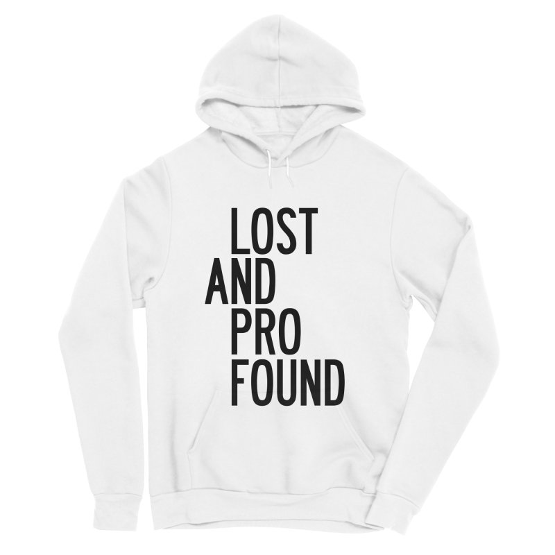 Lost And Profound Men's Sponge Fleece Pullover Hoody by by Chad Rea