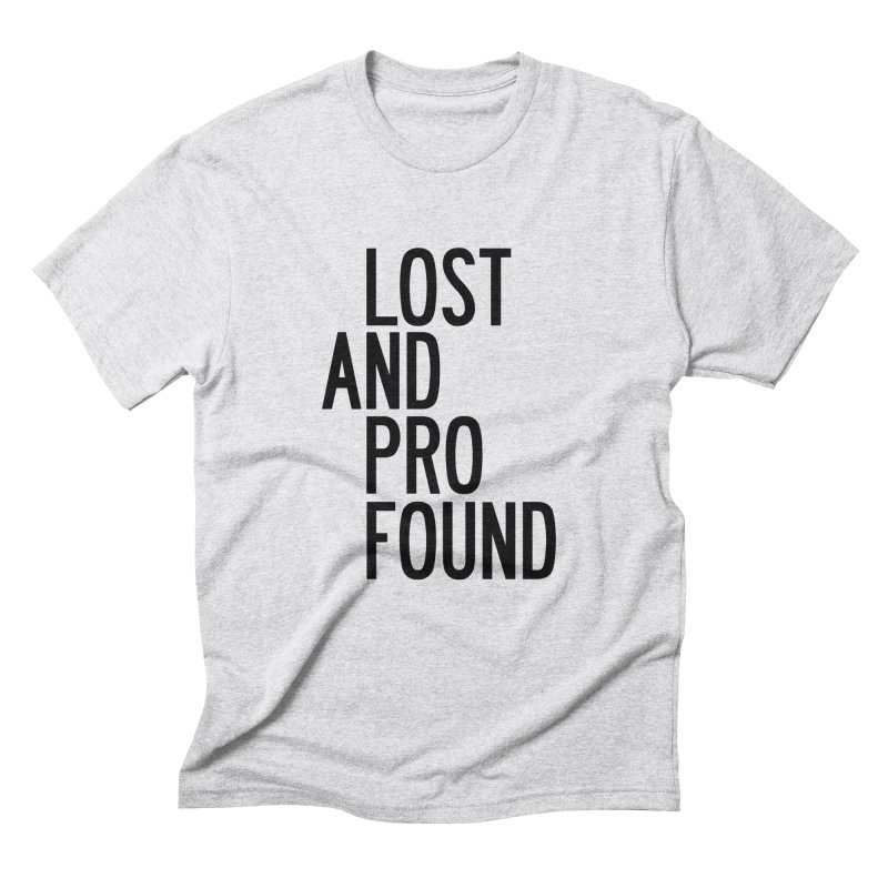 Lost And Profound Men's Triblend T-Shirt by by Chad Rea
