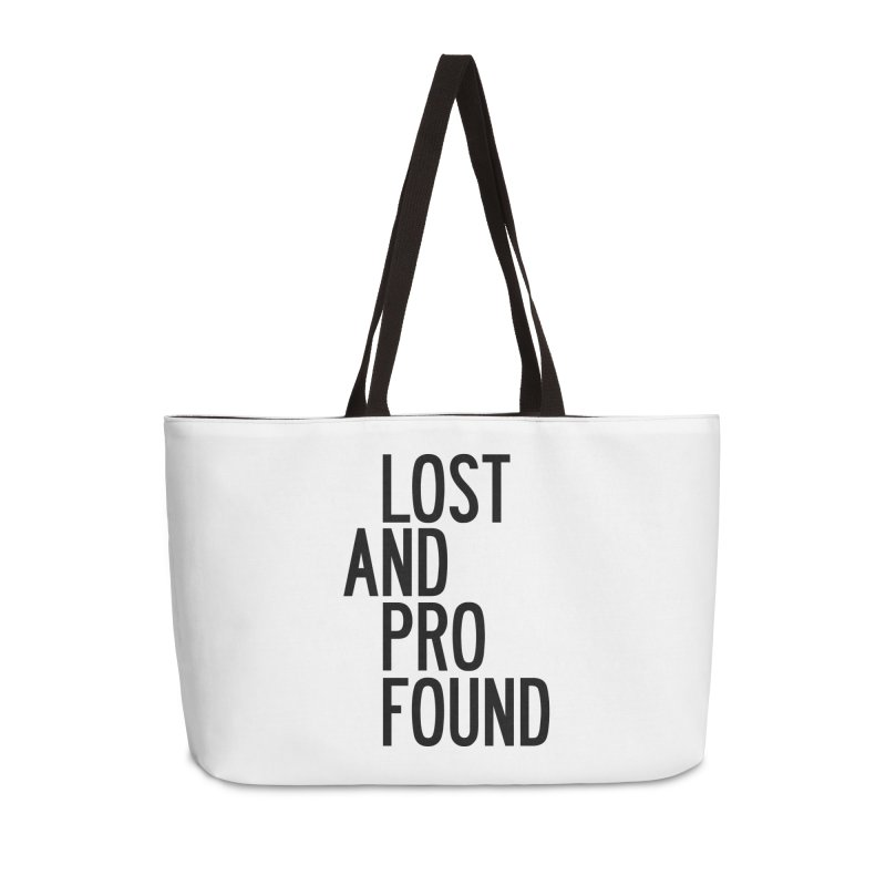 Lost And Profound Accessories Weekender Bag Bag by by Chad Rea