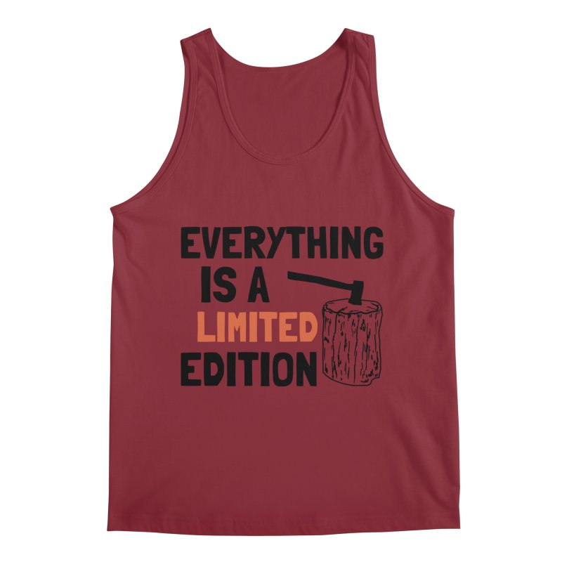 Everything Is A Limited Edition Men's Regular Tank by by Chad Rea