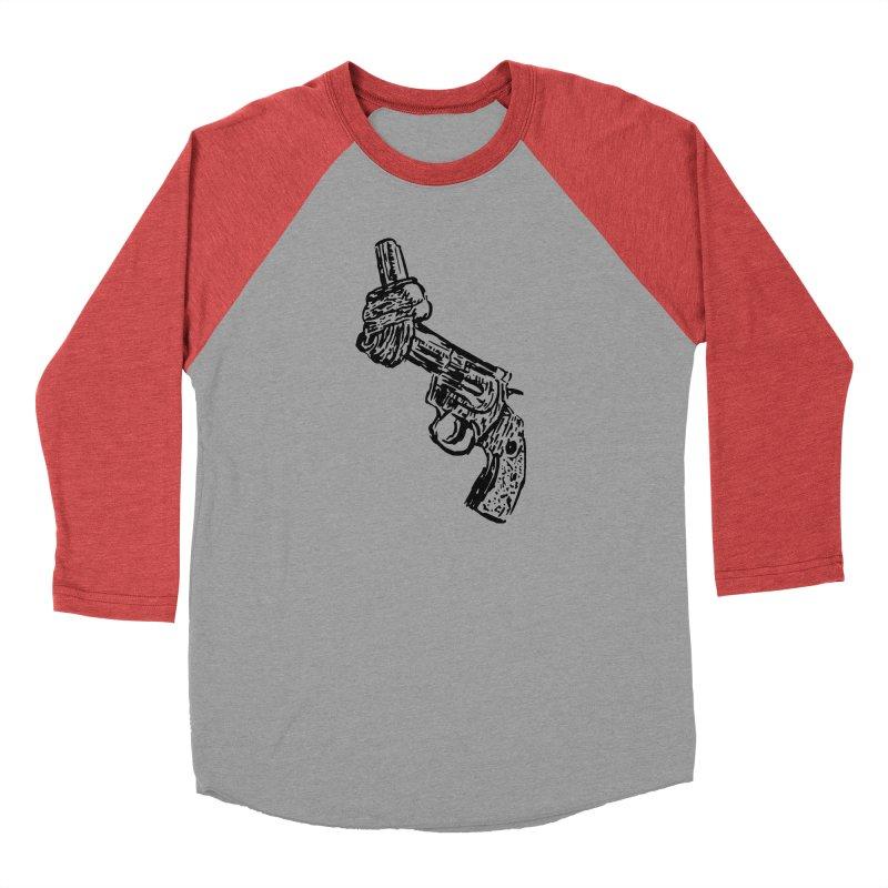 Gun-tied Men's Longsleeve T-Shirt by by Chad Rea