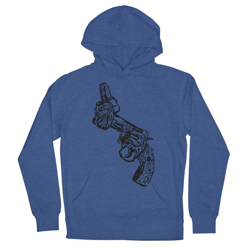 Gun-tied Women's French Terry Pullover Hoody by by Chad Rea